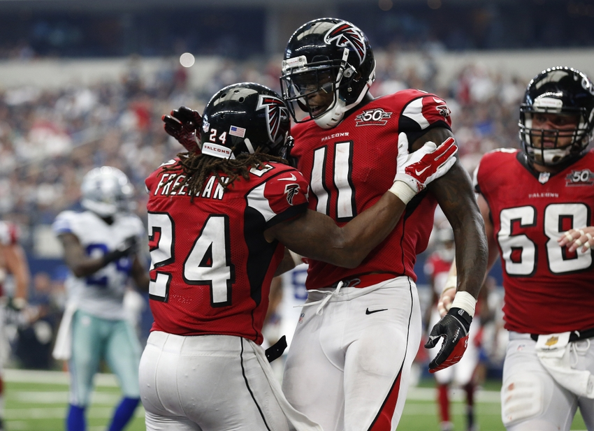 Image result for julio jones and devonta freeman