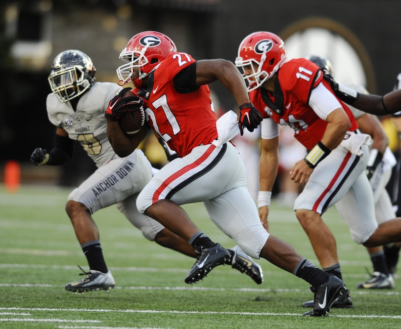 Georgia Bulldogs: 5 Offensive Players to Watch Vs. USC