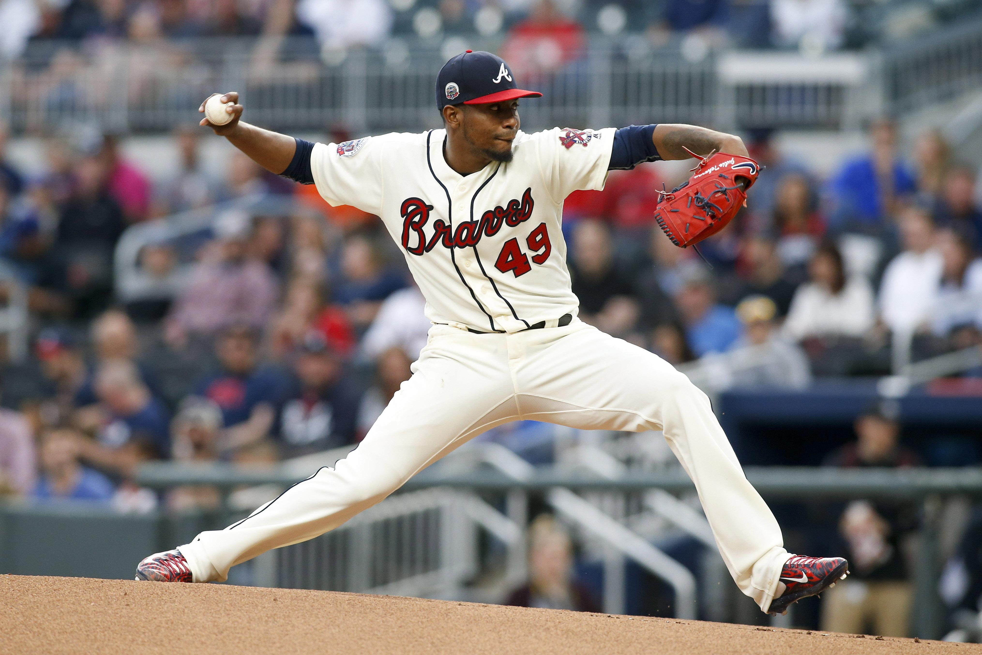 top 5 atlanta brave pitchers