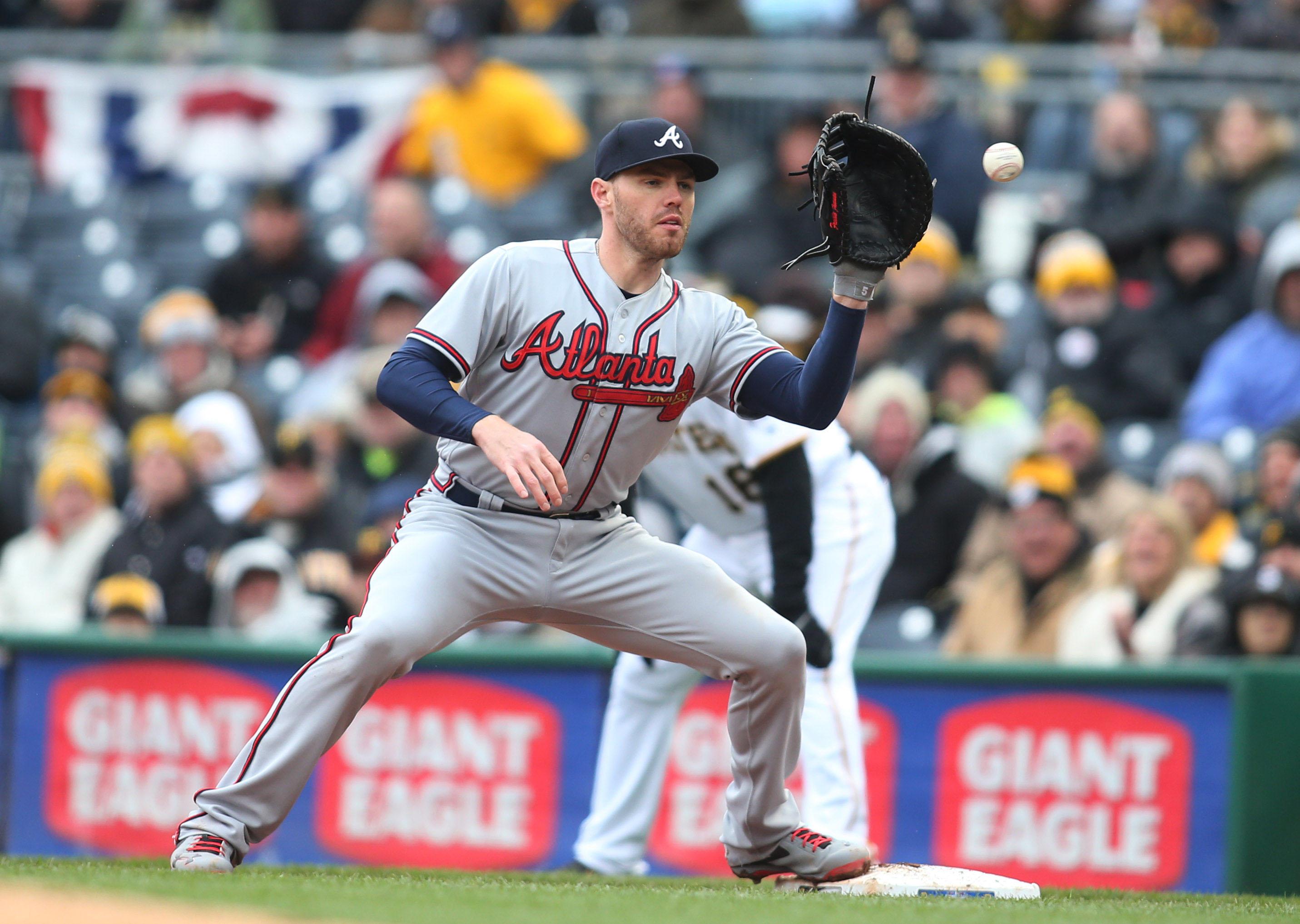 Atlanta Braves: Top Five Best 1st Basemen in Braves ...Atlanta Braves